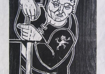 Tyrion (woodcut)