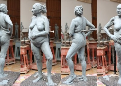 old woman sculpt
