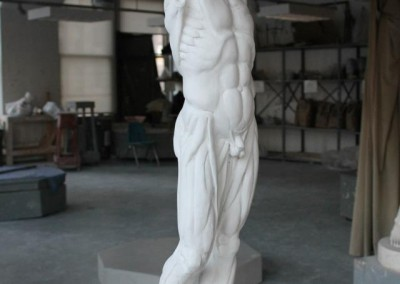 houdon ecorche copy (1/2 scale)