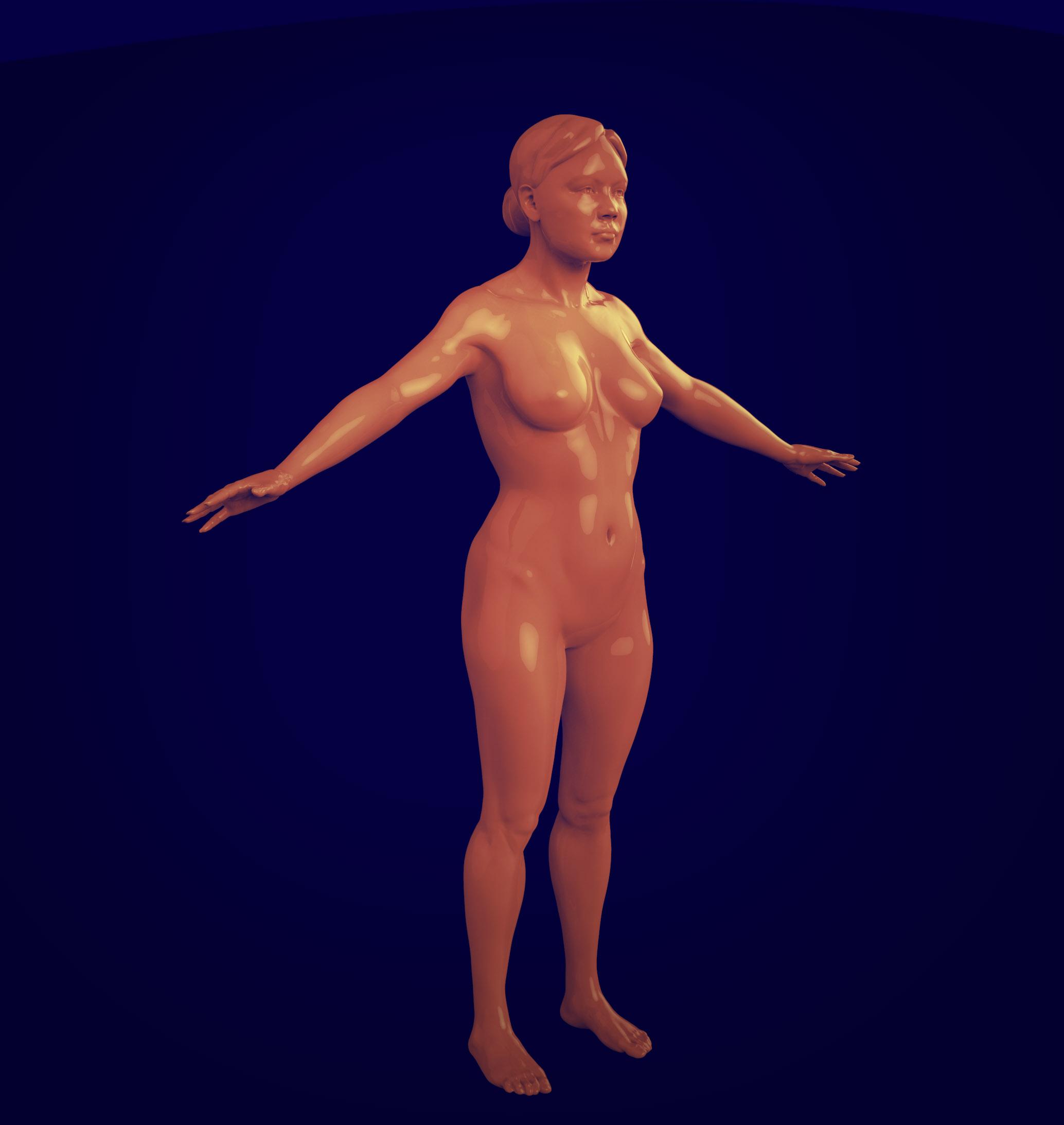 Keyshot Render - Wei Wei Sculpt Resumed 1